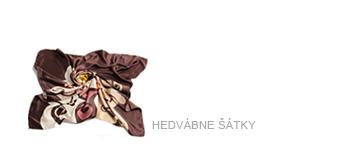 Luxusní hedvábné šátky